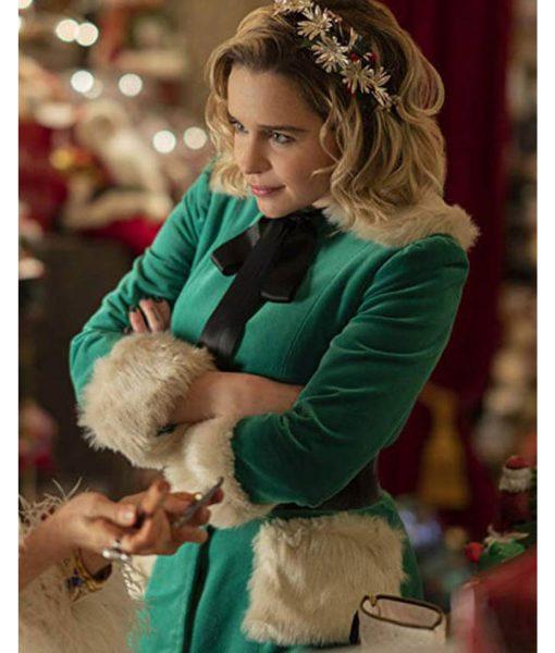 emilia-clarke-last-christmas-jacket