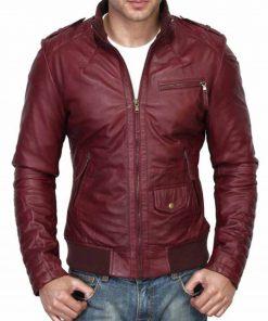 burgundy-leather-jacket