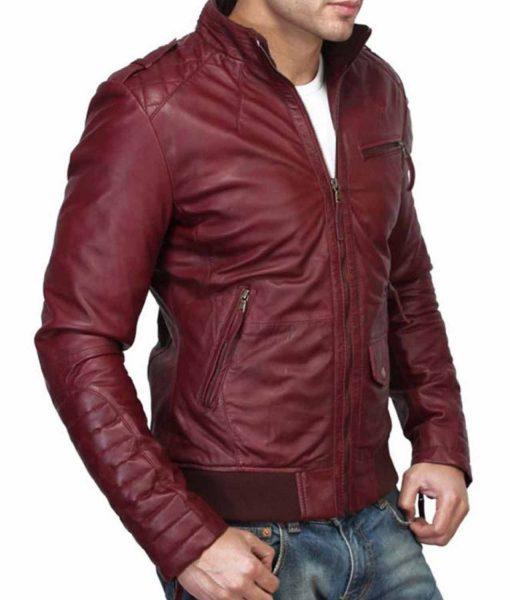 mens-bomber-burgundy-leather-jacket