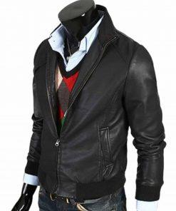 mens-bomber-slim-fit-leather-jacket