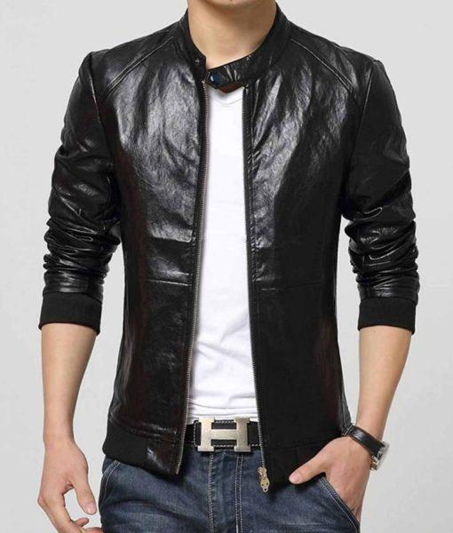mens-slim-fit-casual-wear-bomber-snap-tab-collar-jacket
