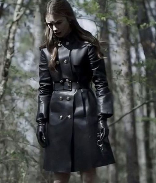 lily-collins-leather-coat