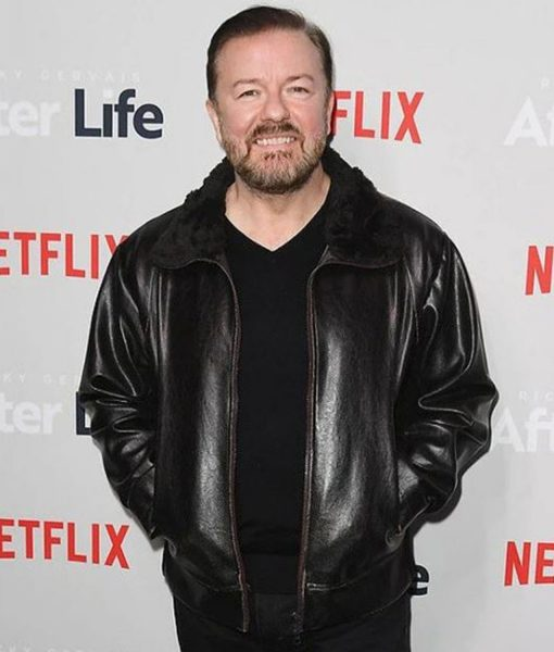 ricky-gervais-after-life-leather-jacket