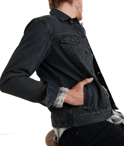 black-trans-am-denim-jacket