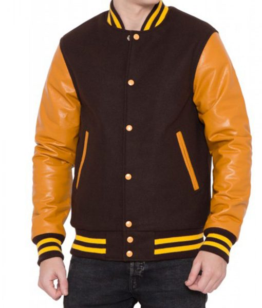 brown-and-gold-bomber-jacket