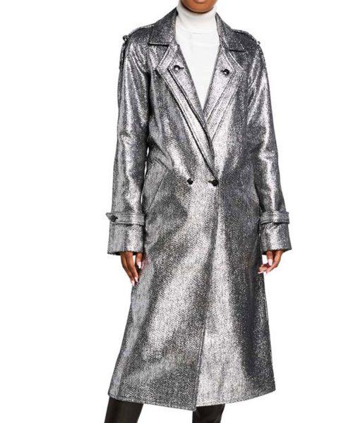 fallon-carrington-silver-coat