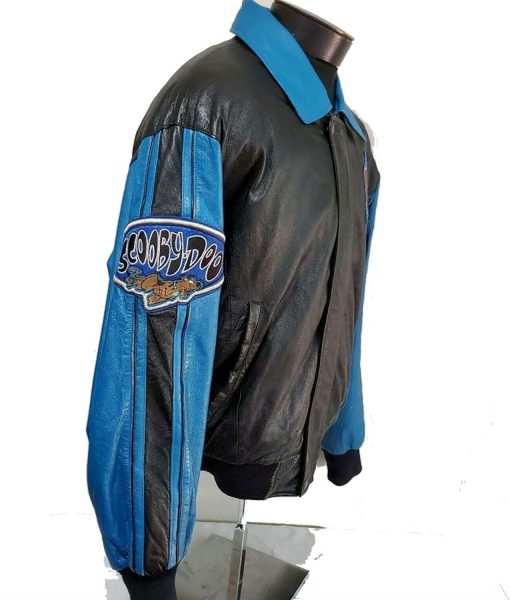 scooby-doo-leather-jacket-with-patches