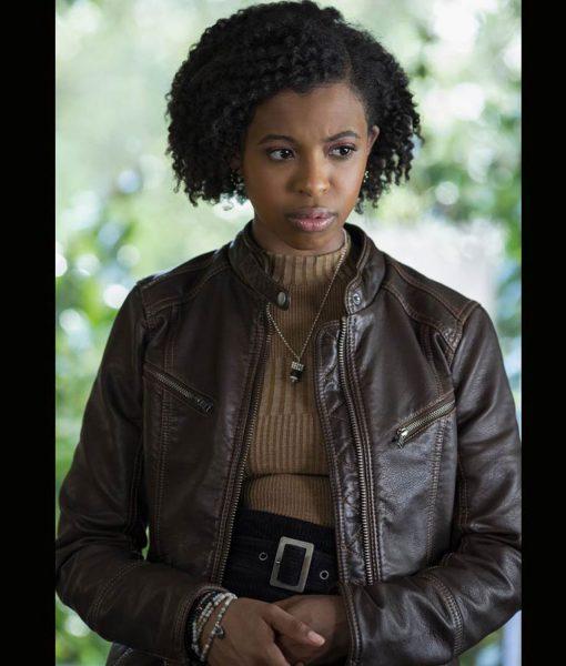 13-reasons-why-ani-achola-leather-jacket