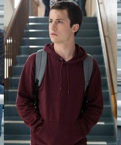 13-reasons-why-clay-jensen-maroon-hoodie