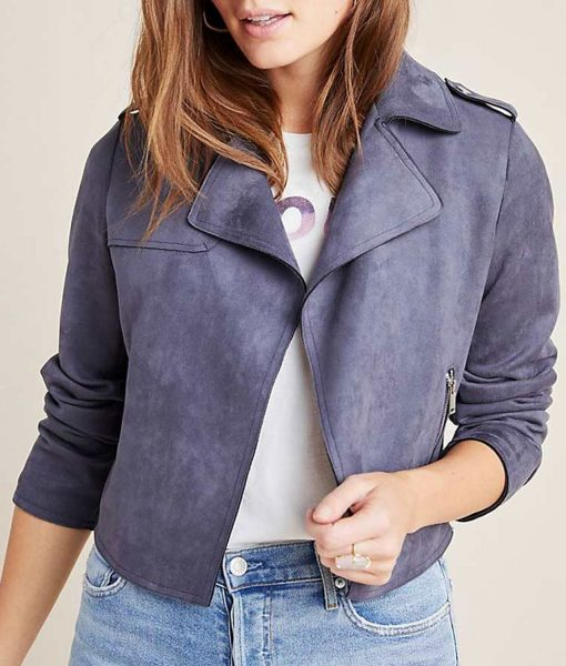 13-reasons-why-jessica-davis-biker-suede-jacket