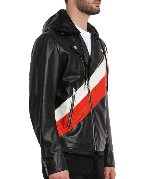 13-reasons-why-zach-dempsey-leather-jacket-with-hood