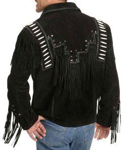 mens-black-fringe-jacket