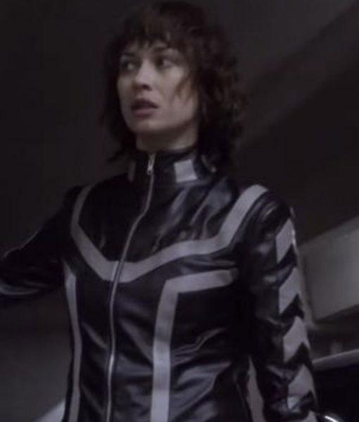 the-courier-olga-kurylenko-leather-jacket