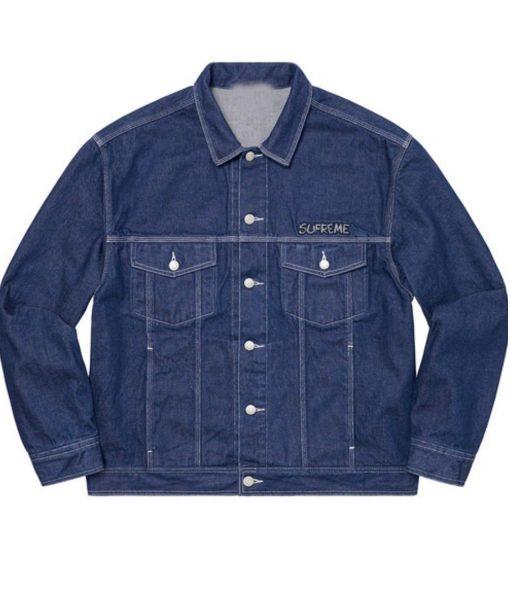 denim-trucker-supreme-smurfs-jacket