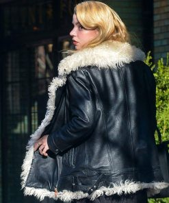 ana-taylor-joy-shearling-jacket