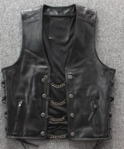 chain-leather-vest
