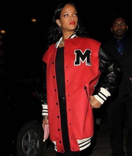 rihanna-letterman-varsity-jacket