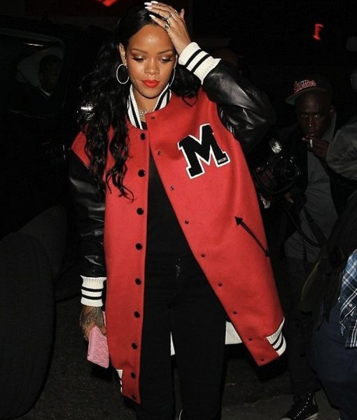 rihanna-varsity-letterman-jacket