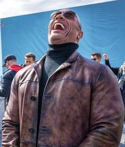 dwayne-johnson-red-notice-leather-jacket