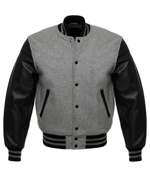mens-grey-and-black-varsity-jacket