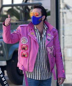 nicolas-cage-pink-leather-jacket
