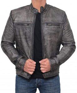 grey-leather-jacket