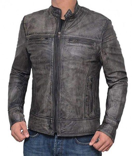 mens-cafe-racer-grey-leather-jacket