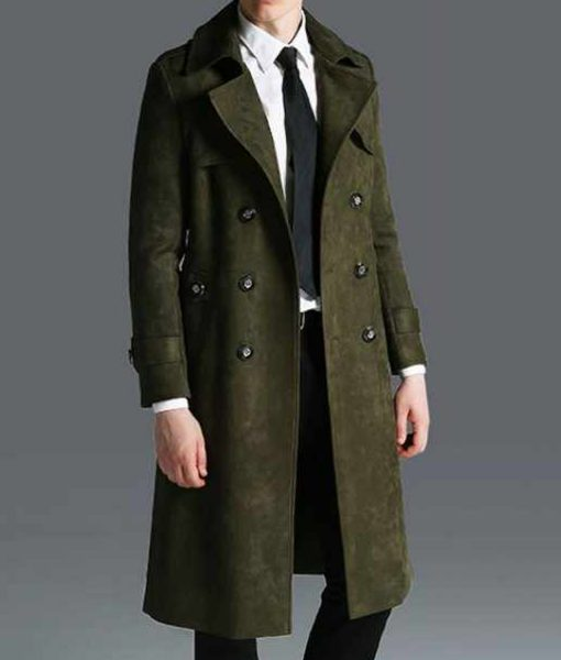 mens-double-breasted-green-military-overcoat