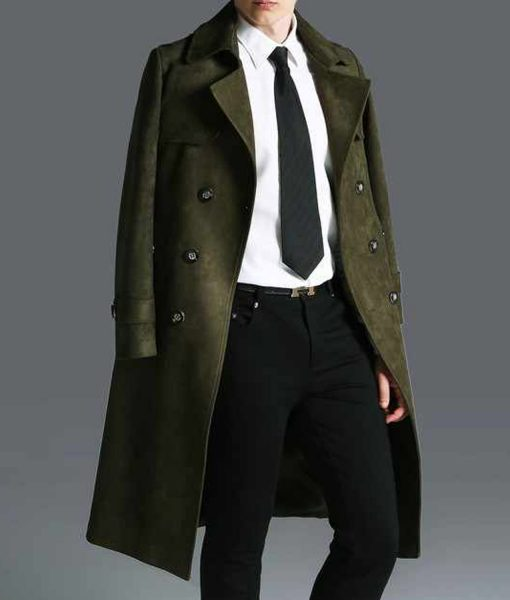 mens-double-breasted-green-overcoat
