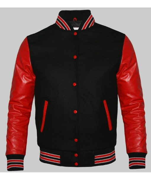 mens-red-and-black-varsity-jacket