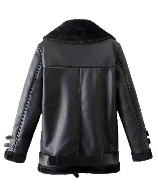 mens-winter-belted-black-shearling-leather-jacket