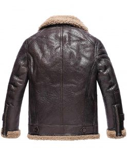 mens-winter-dark-brown-shearling-leather-jacket