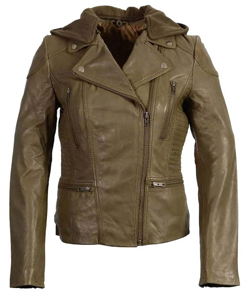 womens-olive-motorcycle-leather-jacket-with-hood