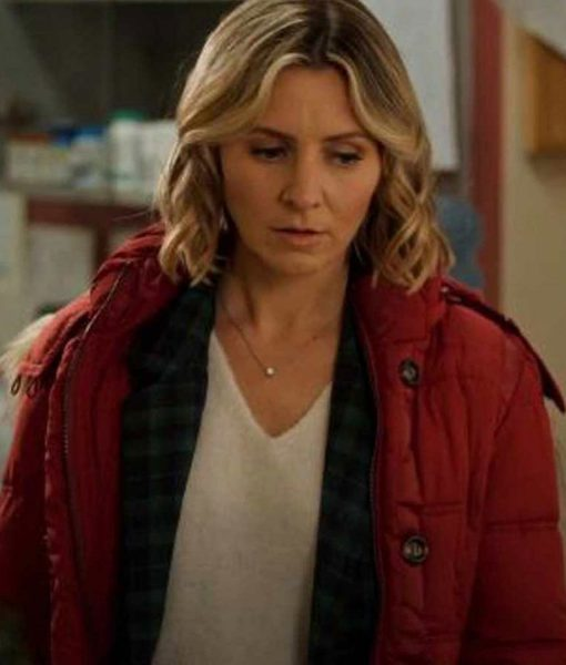 beverley-mitchell-candy-cane-christmas-red-parka