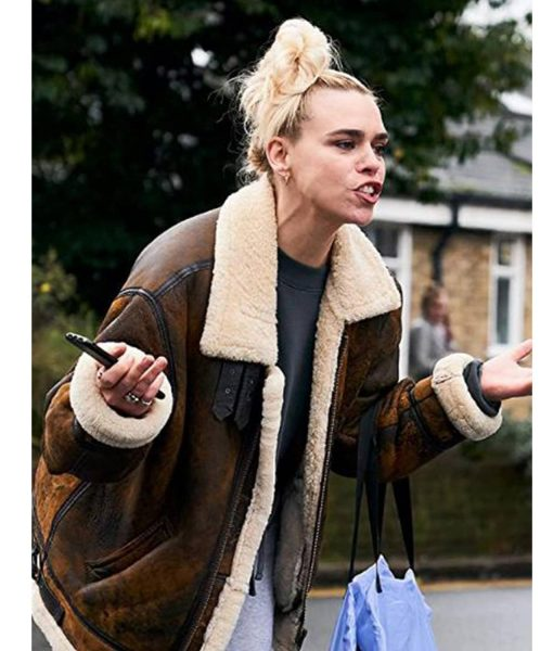 billie-piper-shearling-jacket