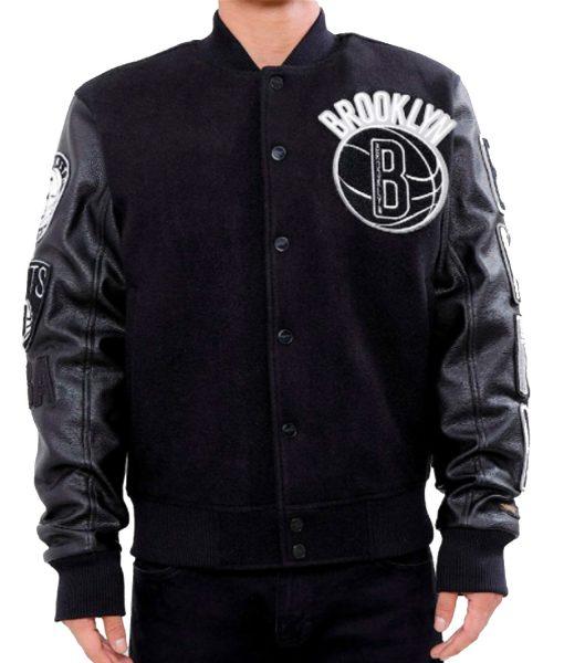 brooklyn-nets-black-varsity-jacket