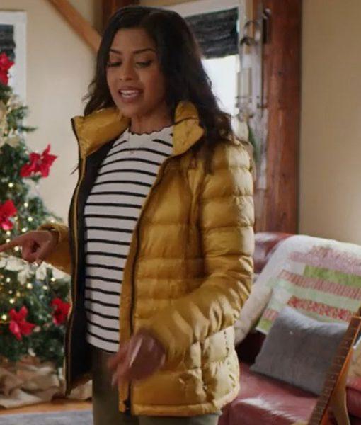 christmas-on-wheels-tiya-sircar-puffer-jacket