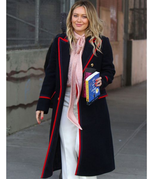 hilary-duff-navy-blue-coat