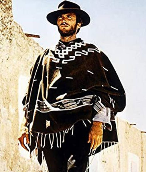 man-with-no-name-brown-poncho