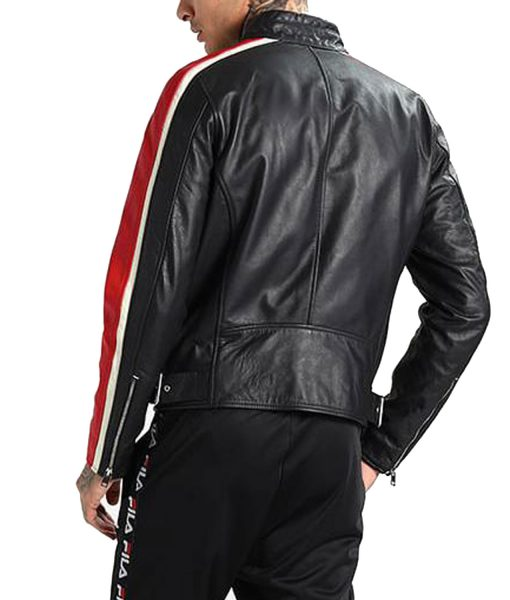 mens-black-red-and-white-biker-leather-jacket