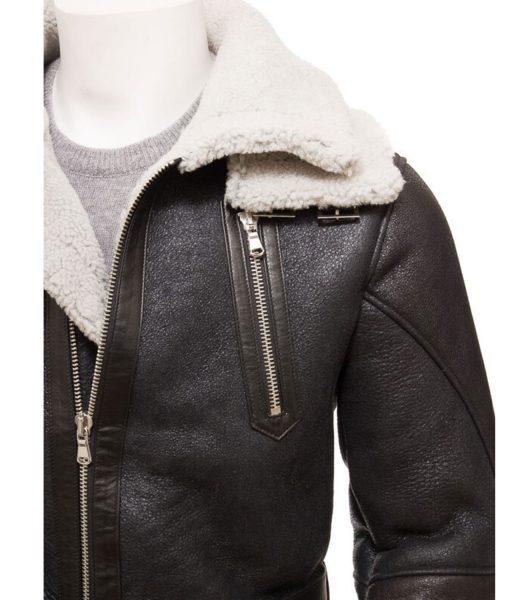 mens-dark-brown-shearling-coat