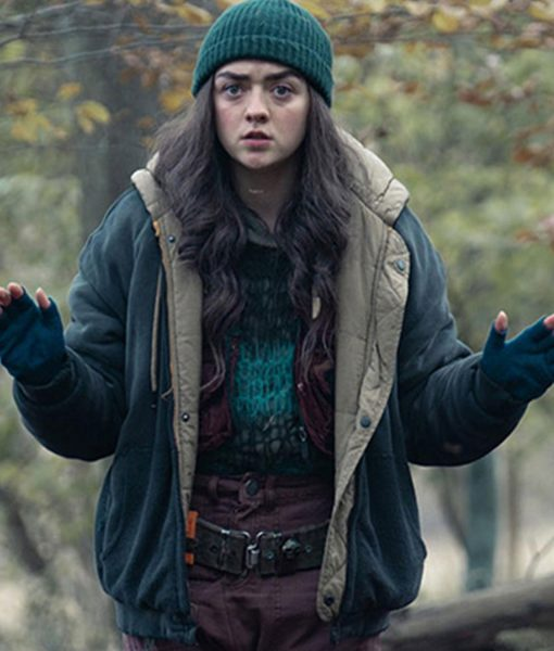 two-weeks-to-live-maisie-williams-jacket