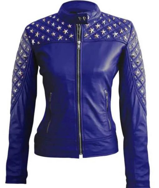 womens-studded-star-leather-jacket