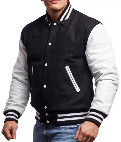 black-and-white-varsity-jacket