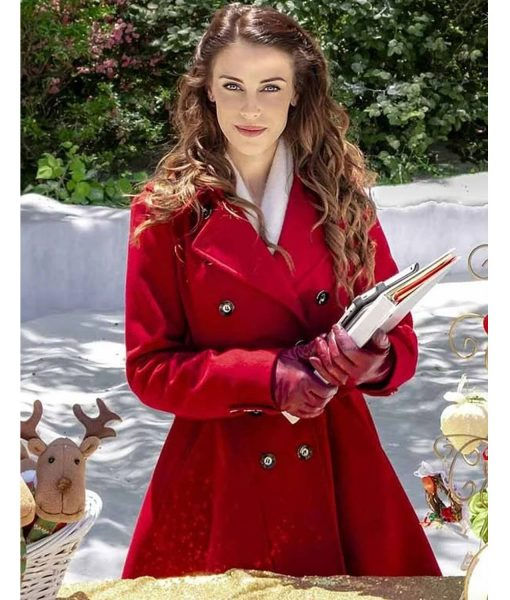 jessica-lowndes-christmas-at-pemberley-manor-coat
