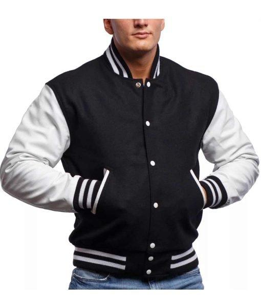 mens-black-white-varsity-jacket
