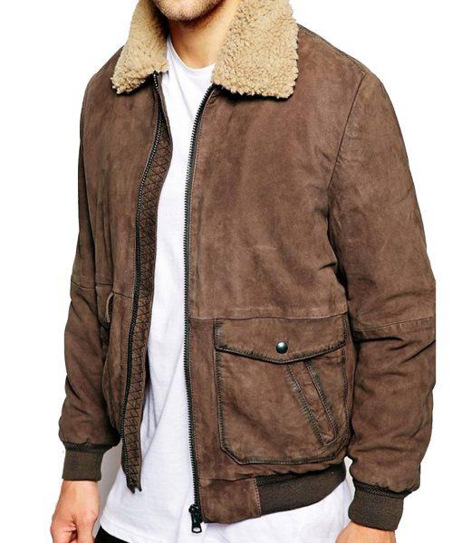 mens-sherpa-collar-brown-jacket