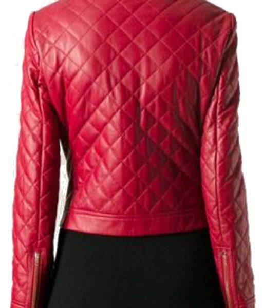 womens-red-zipper-pockets-jacket