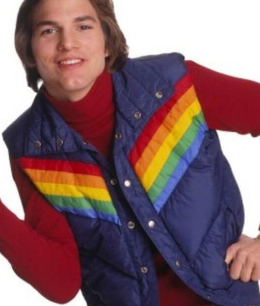 ashton-kutcher-that-70s-show-puffer-vest