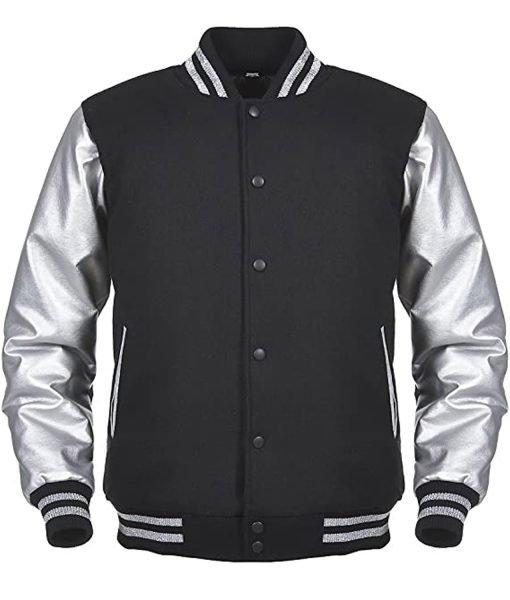 black-and-silver-varsity-jacket